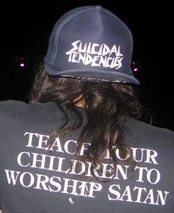 Teach your children to worship satan