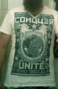 Conquer - Unite. Yeah, this is the photo quality you can expect henceforth, pretty much.