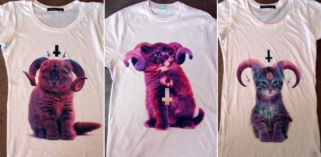 Satanic kittens from Glitterhell | Shirts of Satan