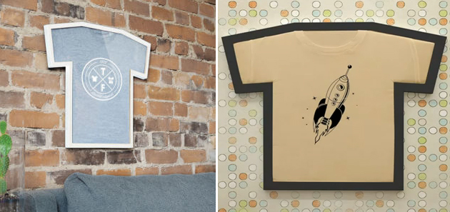 T-shirt frames – the perfect solution for displaying your most ...